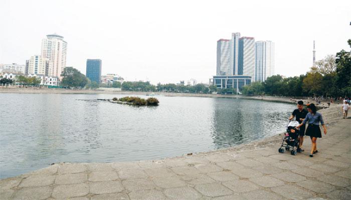Môi trường hồ của Hà Nội dần được hồi sinh